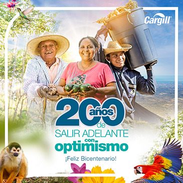200 años de salir adelante con optimismo. Cargill