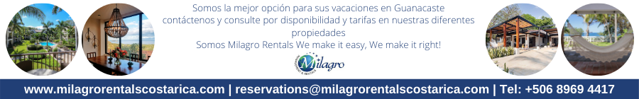Milagro Management Rentals Costa Rica